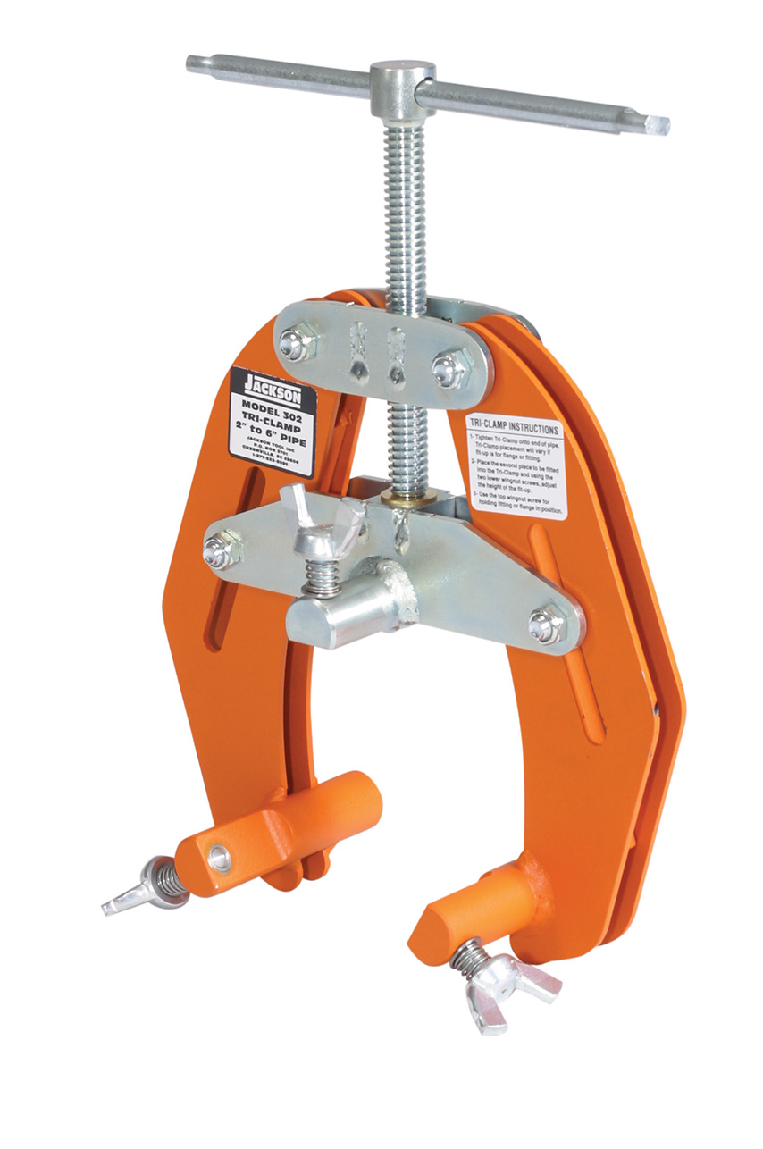 Tri clamp™ pipe alignment tool jackson inc